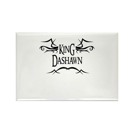King Dashawn Rectangle Magnet