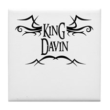 King Davin Tile Coaster