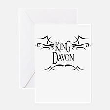 King Davon Greeting Card