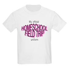 Field Trip Uniform in Pink T-Shirt