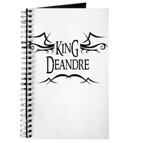 King Deandre Journal