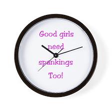 Good girls need more than spankings too -WallClock