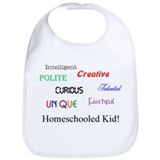 Homeschooled Kid! Bib