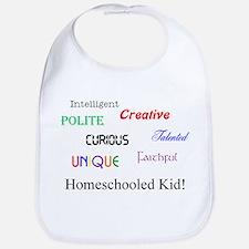 Homeschooled Kid! Bib