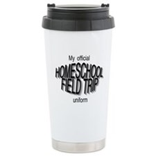 Field Trip Uniform in Gray Travel Mug