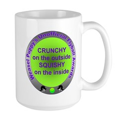 Crunchy and Squishy Large Mug