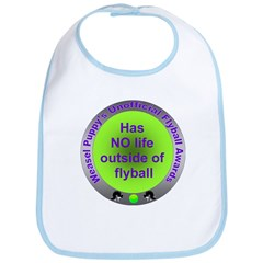 Obsessed with Flyball Award Bib