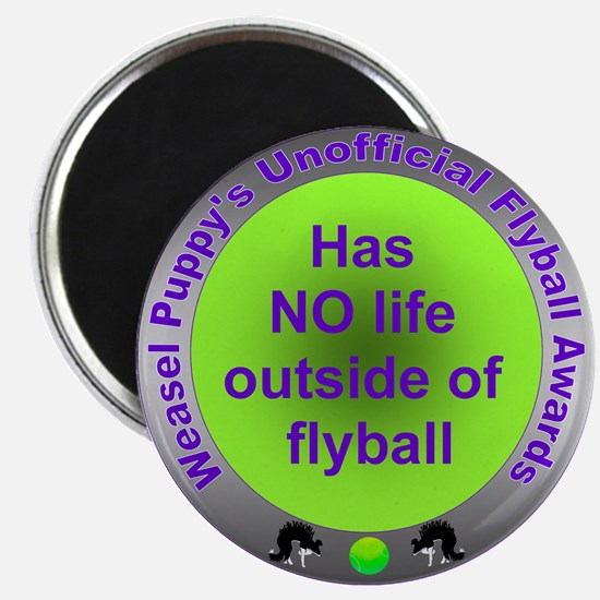 Obsessed with Flyball Award Magnet