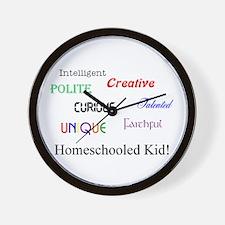 Homeschooled Kid! Wall Clock