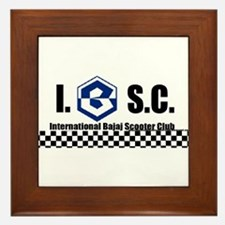 Unique Scooters Framed Tile
