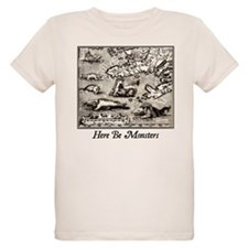 Here Be Monsters T-Shirt