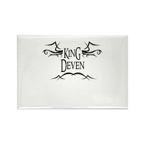 King Deven Rectangle Magnet