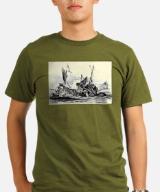 Kraken Attack 2 T-Shirt
