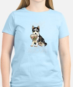 Husky Mom T-Shirt