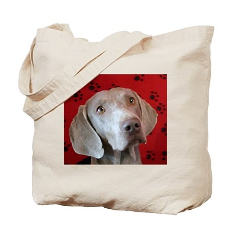 I Love Weims Callie Tote Bag
