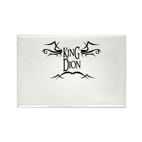 King Dion Rectangle Magnet