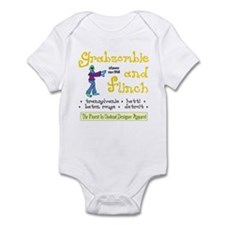 Funny Grabazombie Zombie Fashion Infant Bodysuit