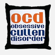 Twilight OCD Throw Pillow