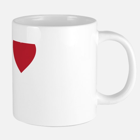 I Love Estonia 20 oz Ceramic Mega Mug
