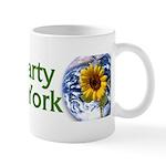 Green Party of New York coffee mug