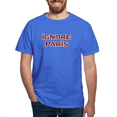 IGNORE PARIS - Black T-Shirt
