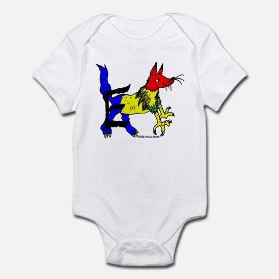 E is for Enfield Infant Bodysuit