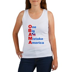 One Big A** Mistake America Women's Tank Top