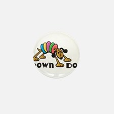 Down Dog Mini Button (100 pack)