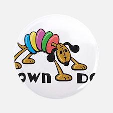 "Down Dog 3.5"" Button"