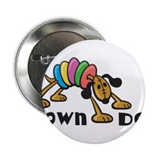 """Down Dog 2.25"""" Button (10 pack)"""