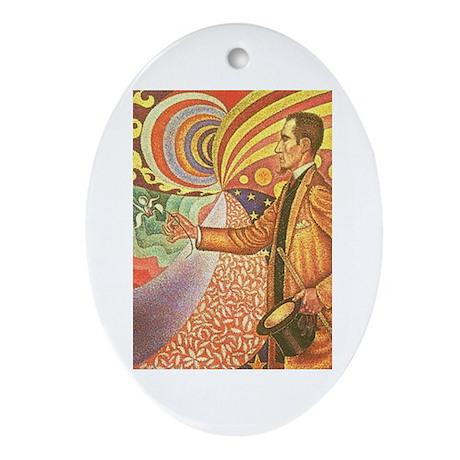 Paul Signac, Portrait of Felix Feneon Ornament (Ov