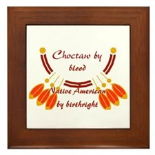 """""""Choctaw"""" Framed Tile"""
