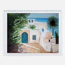 Funny Tunis Wall Calendar