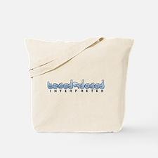 Interpreter Blue Tote Bag