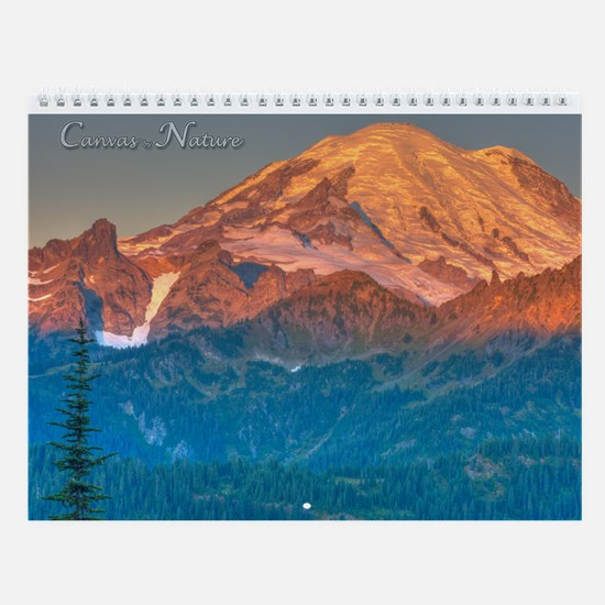 Mount Rainier II Wall Calendar