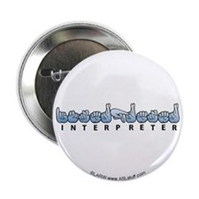 "Interpreter Blue 2.25"" Button"