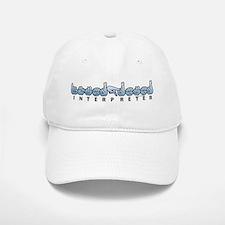 Interpreter Blue Baseball Baseball Cap