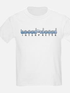 Interpreter Blue T-Shirt