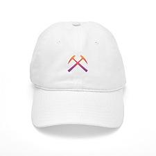 Sunset Crossed Rock Hammers Baseball Cap
