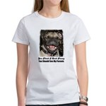LAUGHING PUG Women's T-Shirt