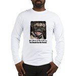 LAUGHING PUG  Long Sleeve T-Shirt