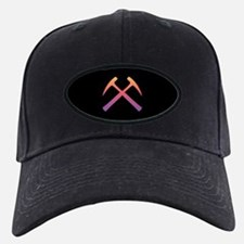 Sunset Crossed Rock Hammers Baseball Hat