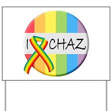 Cool Chaz Yard Sign