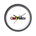 OutVoice Wall Clock
