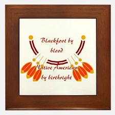 """""""Blackfoot"""" Framed Tile"""