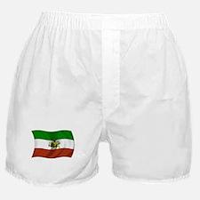 Wavy Pahlavi Dynasty Flag Boxer Shorts