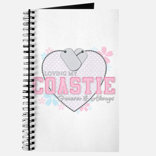 Loving My Coastie Forever and Journal
