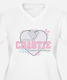 Loving My Coastie Forever and T-Shirt
