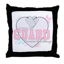 Loving My Guard Forever and A Throw Pillow