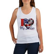 I love My Soldier Logo 1 Women's Tank Top